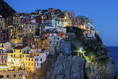 Manarola in Cinque Terra in Italy Royalty Free Stock Photos