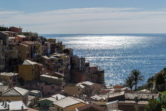 Manarola, Cinque Terre obrazy royalty free