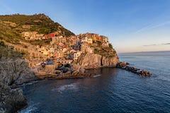 Manarola, Cinque Terre. Manarola e le Cinque Terre, Liguria Italy Royalty Free Stock Photography