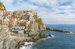 Manarola, Cinque Terre, Italië stock fotografie