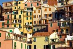Manarola, Cinque Terre, Italië Stock Foto's