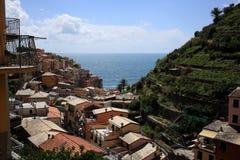 Manarola, Cinque Terre, Italië Royalty-vrije Stock Foto