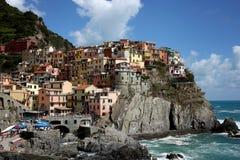 Manarola, Cinque Terre, Italië Royalty-vrije Stock Afbeeldingen