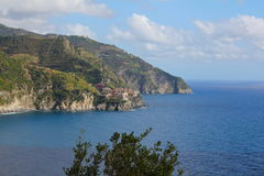 Manarola, Cinque Terre, Italië Royalty-vrije Stock Fotografie