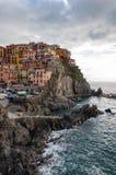 Manarola in Cinque Terre, Itali? royalty-vrije stock afbeelding