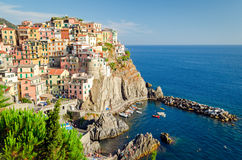 Manarola, Cinque Terre (Italian Riviera, Liguria) Stock Image