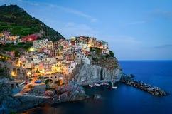 Manarola, Cinque Terre (italiano riviera, Liguria) fotografia de stock