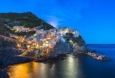 Manarola, Cinque Terre (italiano riviera, Liguria) imagens de stock royalty free