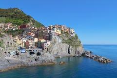 Manarola, Cinque Terre, Italie Image libre de droits