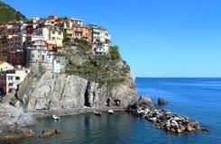 Manarola, Cinque Terre, Italie Images libres de droits