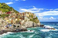 Manarola, Cinque Terre, Italie photos libres de droits
