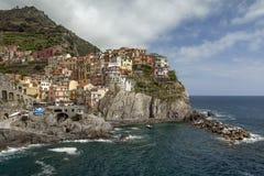 Manarola, Cinque Terre, Italie Photographie stock libre de droits