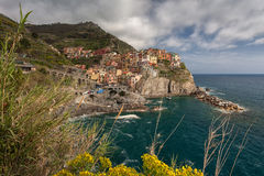 Manarola, Cinque Terre, Italie Photo stock