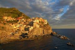 Manarola, Cinque Terre, Italien Stockfoto