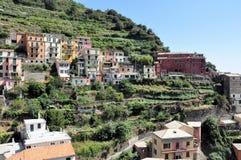 Manarola in Cinque Terre, Italy Stock Image