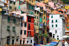 Manarola Cinque Terre, Italy Stock Photo