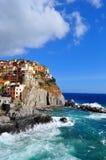 Manarola Cinque Terre, Italy Stock Photos