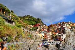 Manarola Cinque Terre, Italy Stock Photography