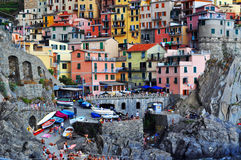Manarola Cinque Terre, Italy Royalty Free Stock Photo