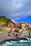 Manarola Cinque Terre, Italy Stock Images