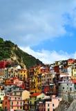 Manarola Cinque Terre, Italy Stock Image