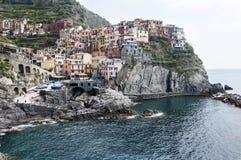 Manarola - Cinque Terre. In Italy stock image