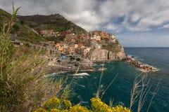 Manarola, Cinque Terre, Italy Foto de Stock