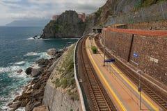 Manarola, Cinque Terre, Italy Fotografia de Stock Royalty Free
