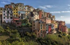 Manarola, Cinque Terre, Italy Imagem de Stock