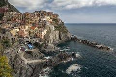 Manarola, Cinque Terre, Italy Fotos de Stock Royalty Free