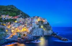 Manarola - Cinque Terre, Italy Royalty Free Stock Photo