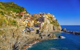Manarola Cinque Terre Italy Coast royalty free stock image