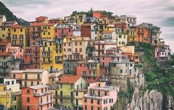 Manarola Cinque terre, Italy. Stock Photography