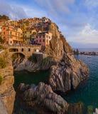 Manarola in Cinque Terre - Italy Royalty Free Stock Images