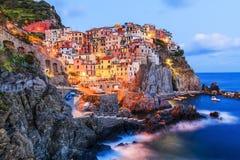 Manarola, Cinque Terre, Italy. royalty free stock image
