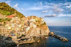 Manarola (Cinque Terre Italy) Royalty Free Stock Image