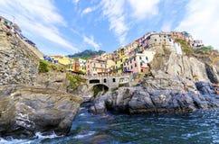 Manarola, Cinque Terre, Italy Royalty Free Stock Photos