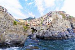 Manarola, Cinque Terre, Italy Stock Images