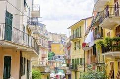 Manarola, Cinque Terre, Italy Royalty Free Stock Images