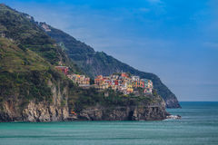 Manarola. Cinque Terre, Italy Stock Photos