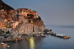 Manarola, Cinque Terre in Italy Stock Photography