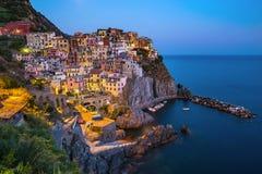 Manarola - Cinque Terre - Italy Royalty Free Stock Images