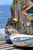 Manarola Cinque Terre, Italy Royalty Free Stock Photos