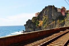 Manarola Cinque Terre, Italy Royalty Free Stock Images