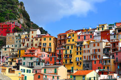 Manarola Cinque Terre, Italy Royalty Free Stock Photography
