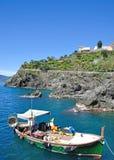 Manarola, Cinque Terre, Ligurië, Italië Royalty-vrije Stock Afbeelding