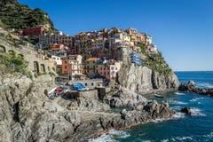 Manarola, cinque terre. Liguria Italy Royalty Free Stock Image