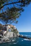 Manarola, cinque terre. Liguria Italy Stock Image