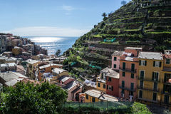 Manarola, cinque terre. Liguria Italy Stock Photography