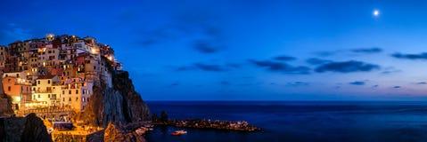 Manarola Cinque Terre (Liguria Włochy) fotografia royalty free
